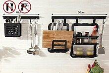 Drainage Schüssel Free Stanzen Küche Regal Wand Anhänger Rack Stowage Regal Lagerung Regal ( stil : A )