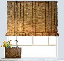 DRAPEDL Natürlicher Fensterrollo Bambusjalousien