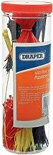 Draper 12512 Nylon-Kabelbinder in verschiedenen Größen 650 Stück