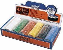Draper 12818 Isolierband-Box, verschiedene Farben