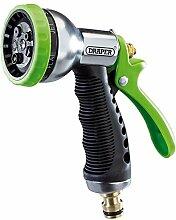 DRAPER EXPERT Qualität Gartenschlauch Spray Gun Aluminium Body Soft Grip 7Muster