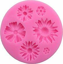 Drawihi Schneeflocke Blume Silikonform Biskuit