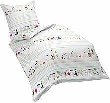 Dream Art Dream Art Kids 133605, Biber, Fb. 9 Kids Bettwäsche-Set, Baumwolle, Multicolour, 100 x 135 cm