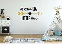Dream Big Little One Wall Decal Pfeile