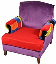 Dream Loft – Sofa Stoff Sportmotive Bunte Rainbow