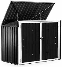 DREAMADE Gartenhaus Metall Gartenbox