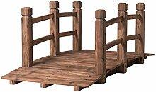 DREAMADE Holzbrücke für Garten/Dekoration,