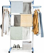 DREAMADE Kleiderwagen auf Rollen, Kleiderständer