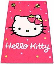 Dreamcarpets Hochwertiger Kinderteppich Hello