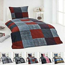 Thermo Fleece Bettwäsche 155x220 In Vielen Designs Online Kaufen