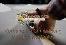 Dreaming Casa Vorhang Maßanfertigung Farbverlauf