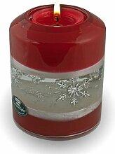 Dreamlight Traumlicht Candela smart Snow Rouge mit Teelicht Teelichthalter