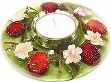 Dreamlight Ufo mini Cherry Kiss Teelichthalter
