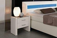 Dreams4Home 'Boxspring' Nachtkonsole; passend zu Boxspring Flashlight; Bettschränkchen; Schrank, handgefertig