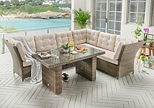 Dreams4Home Dining Lounge Set 'Lexura' -