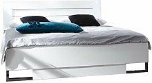 Dreams4Home Futonbett 'Lure', Bett, 140 x 200, 160 x 200, 180 x 200 cm, Doppelpett, Liegefläche:140x200 cm