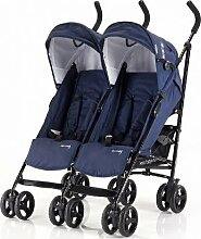 Dreams4Home Geschwisterwagen 'Duo' Blau,