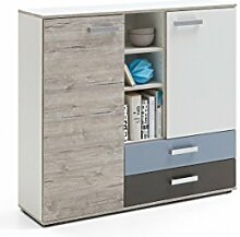 Dreams4Home Kommode 'Pietro III' ,Schrank,