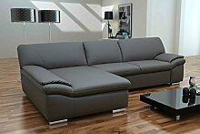 Dreams4Home Polsterecke Mike, Sofa Ecksofa Couch