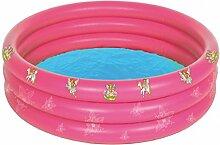 Dreams4Home Pool 'Feentanz' - Pool, Kinderpool, Schwimmbecken, Planschbecken, phtalatfrei, ø 170 cm, Höhe ca. 30 cm, Garten, Camping, Balkon, Terrasse, in pink