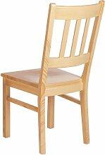 Dreams4Home Stuhl Modell 185a; ohne Armlehne; B 45 x T 42 x H 96cm; Fichte, Ausführung:Lackier