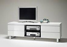 Dreams4Home Wohnwand Lowboard Sebastian, Board, TV