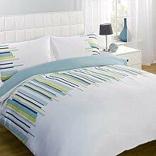 Dreamscene Balance Bettbezug Set, Ocean blau,