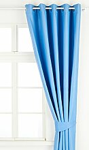 Dreamscene Blackout Luxus Vorhang mit Öse,