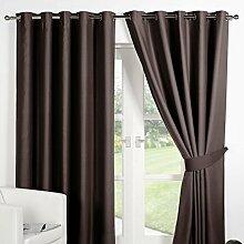 Dreamscene Blackout Luxus Vorhang mit Ösen,