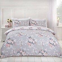Dreamscene Englische Rose Bettbezug mit