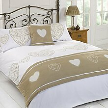 Dreamscene Layla Duvet Quilt Bedding Bed In A Bag Cushion Cover Runner - Colours & Sizes by