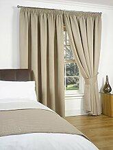 Dreamscene Luxuriöse Thermo-Vorhang,