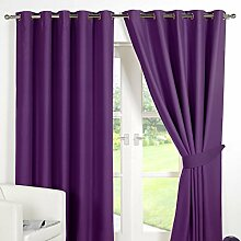 Dreamscene Luxurious Purple Blackout Vorhang mit