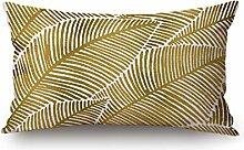 DreamyDesign Bunt Dekorative Reißverschluss Baumwolle Leinen Quadrat Bett Sofa Kaffeehaus Kissenbezug