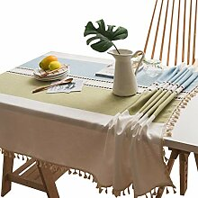 DreamyDesign Rechteck Dekoration Tischdecken