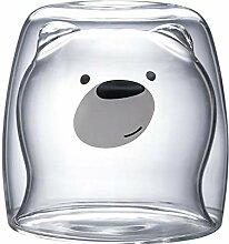 DreamyLife 270ml Doppelwandige Glas - Latte