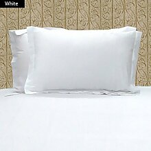 Dreamz bedding- Fadenzahl 400Körper Kissen 100% ägyptische Baumwolle weiß massiv