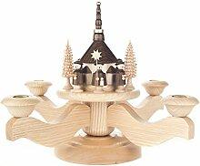 DREGENO Adventskranz, Leuchter mit Seiffener
