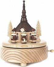 Dregeno Erzgebirge - Spieldose mit Seiffener