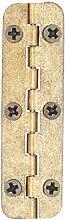 drehbar Fenster Schublade Tür Hintern Scharnier 5cm lang 4Stück bronze Tone