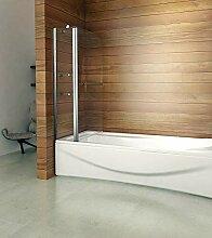 Drehen 180° Aufsatz Badewanne Duschwand Trennwand