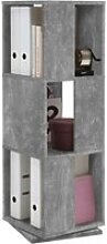 Drehregal Tower Beton Optik B/h/t: Ca. 34x108x34 Cm