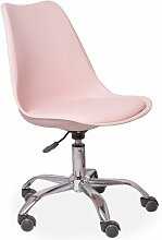 Drehstuhl ClearAmbient Farbe: Rosa