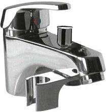 Drei Armatur 17017302-Mischbatterie Badewanne