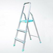 Drei Schritte Ladder Hocker Anti-Rutsch-Klapp-3-Stufen-Haushalt Pavillon Pedale Fischgrät Dual-Verwendung Indoor