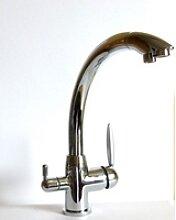 Drei Wege Küchenarmatur Spüle Armatur Wasserhahn