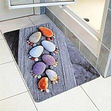 Dreidimensionale digitale Farbdruckeingang Matten