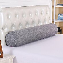 Dreidimensionale dreieckige Kissen, Baumwolle Lange Kissen große zylindrische Bett mit Schlafkissen Kissen Abnehmbare Freund Süßigkeit Kissen Baumwollkissen Kissen, ( Farbe : L , größe : M )