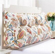 Dreidimensionale dreieckige Kissen, Große dreidimensionale Dreieck Waschbar Bett Kopfteil Kissen Gepolsterte Sofas Große Rückenlehne Baumwollkissen Kissen, ( farbe : K , größe : L )