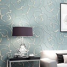Dreidimensionalen Relief Vliestapete/Rose floral Pattern Tapete/Wohnzimmer Schlafzimmerwände/Eingang Teppichboden Tapete-A